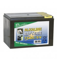 Suchá baterie Alkaline 9 V/75 Ah