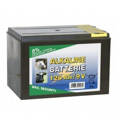 Suchá baterie Alkaline 9 V/120 Ah