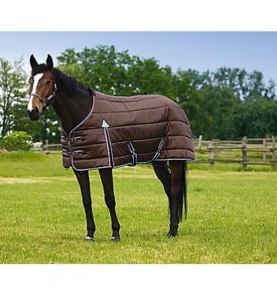 Termodeka Doudoune pro pony hnědá