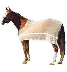 Síťová deka bavlna