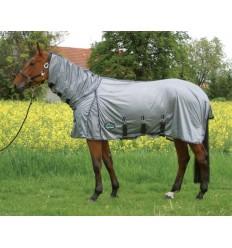 Síťová deka s nákrčníkem a břišním pásem