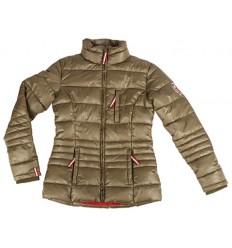 Zimní bunda Peru zlato/hnědá