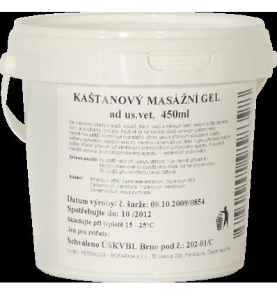 Kaštanový gel 450 ml