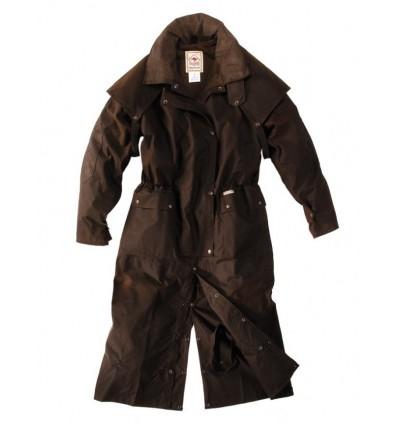 Kabát Scippis Longrider (kožený límec)