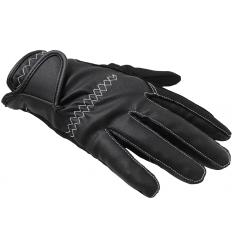 Jezdecké rukavice zimní s prošitím