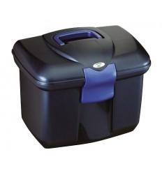 Box Eurohorseline modrý