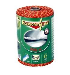 Ohradníkové lanko Economy Line 500 m